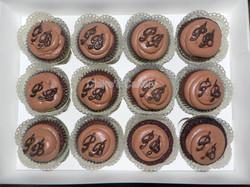 Double Choc Fudge Cupcakes