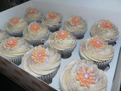 Gerbera cupcakes