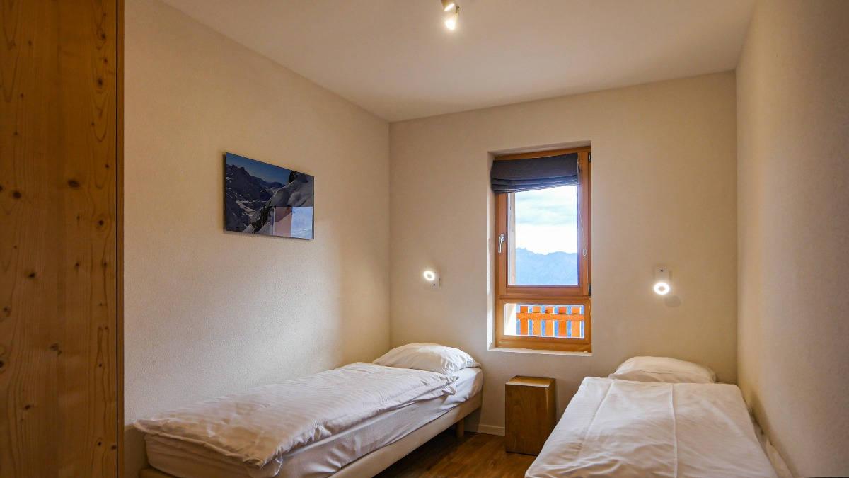 Chambre d'un appartement du T-Resort