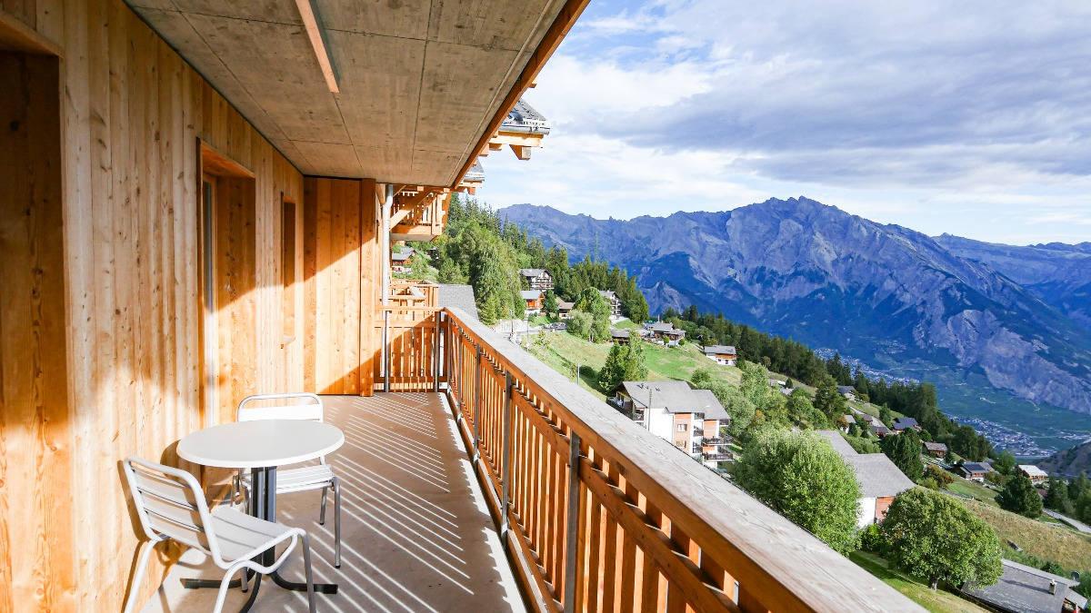 Balcon d'un appartement du T-Resort