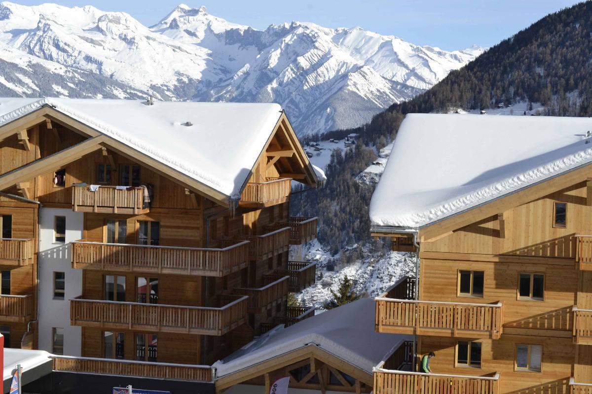 Résidence du T-Resort en hiver