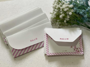 Personalised Cherry Blossom Stationery