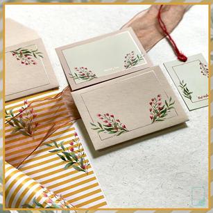 Floral Notecard Set