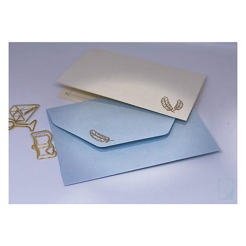 Feather Notecard Set (Set of 5)