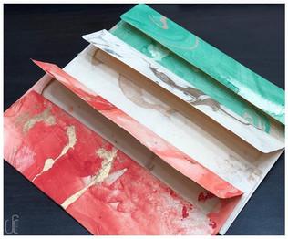 Marble Money Envelopes