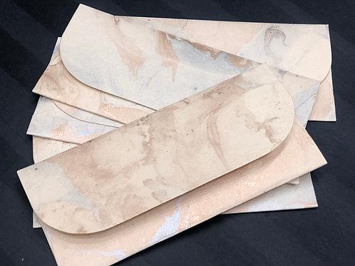 Handmade Marble Money Envelopes (Set of 10)