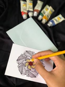 Mandala Notecard Set