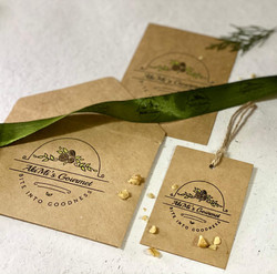 Sustainable Stationery for a Home Baker