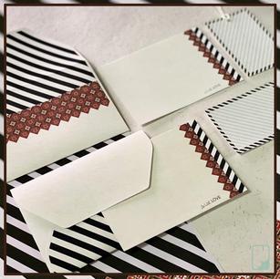Patola Notecard Set