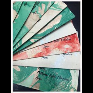 Personalised Marble Money Envelopes