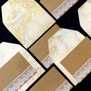 Marble & Lace Notecard Set