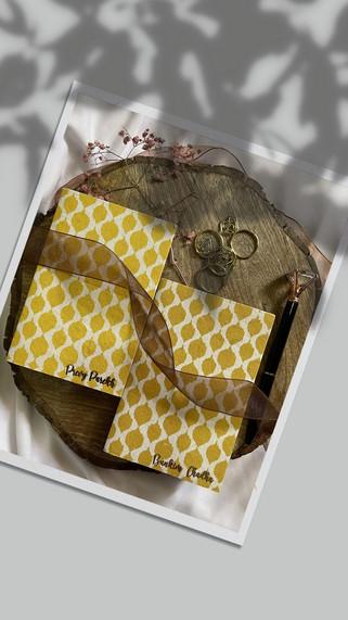 Personalised Ikkat Pocket Diary