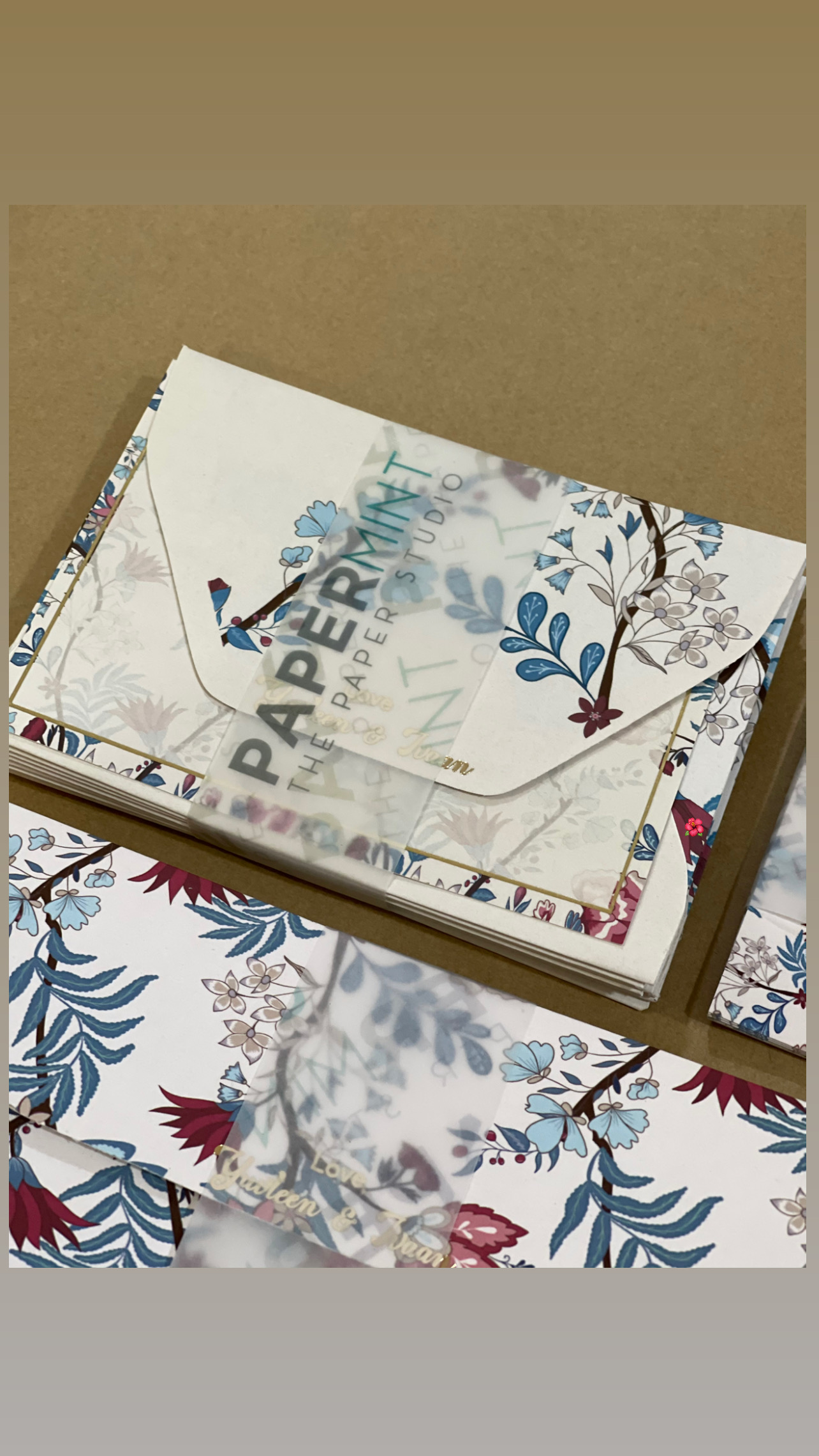 Garden Notecard sets