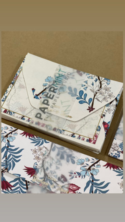 Garden Notecard sets