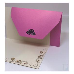 Lotus decal notecard set