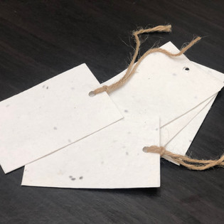 Plantable Seed Paper Gift Tags