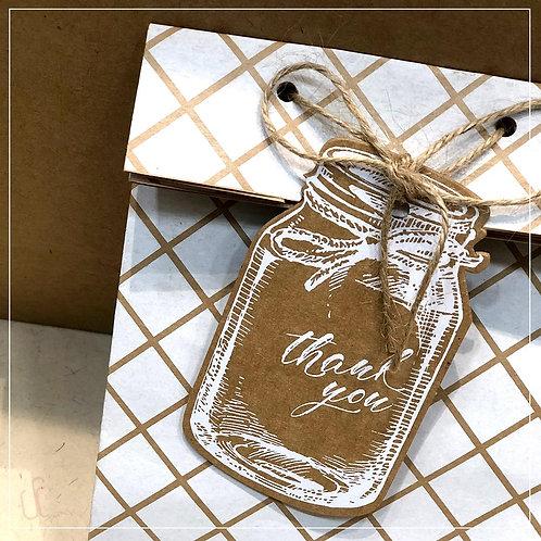 Mason Jar Gift Tags (Set of 5)