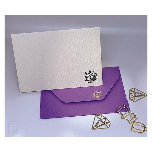 Maple Leaf Notecard Set (Set of 5)