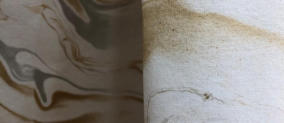 Handmade Marble Paper