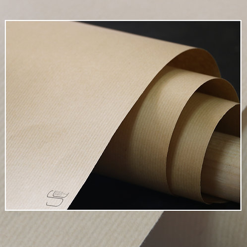 Lined Kraft Wrapping Paper (Set of 5 sheets)