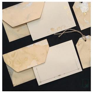 Marble Notecard Set