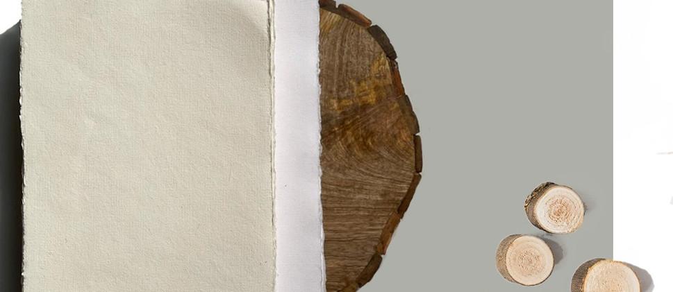 Handmade Deckle Edge Paper