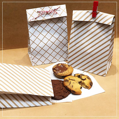 Kraft Favour Bags (Set of 10)