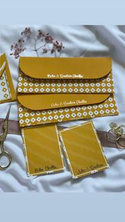 Folk Gift Tags & Money Envelopes Set