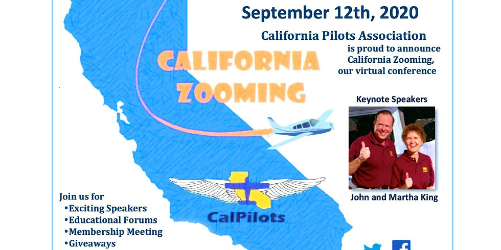 CalPilots - California Zooming - Annual Membership Event