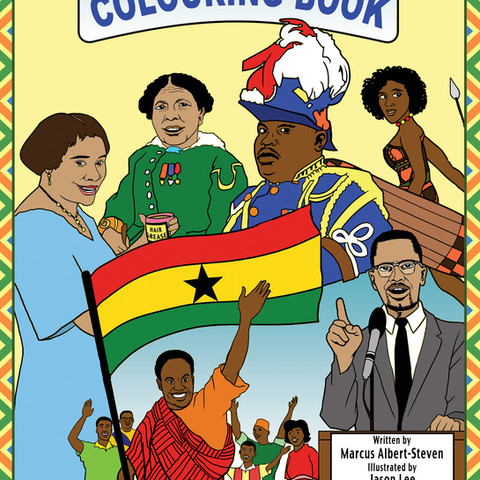 The Black History Colouring Book