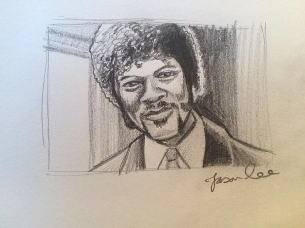 Samual L Jackson Portrait