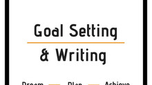 Goal Setting & Writing | Preptober