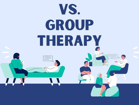 Individual vs. Group Therapy