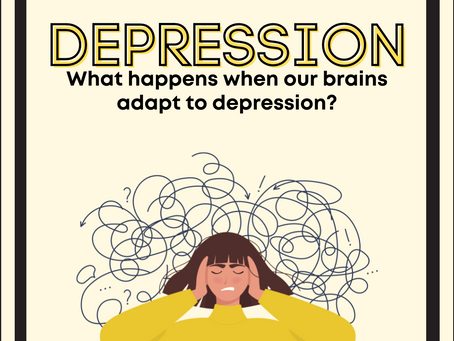 Depression: What happens when our brains adapt to depression?