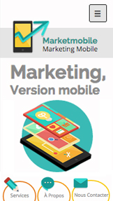 Informatique et Applis website templates – Marketing Mobile