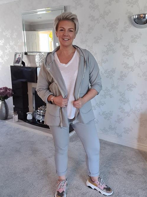 Light grey  Jersey  jogger