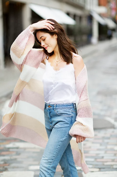 Longline cardigan by Cara and the sky