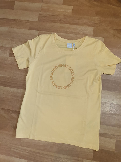 Yellow Tee by ICHI