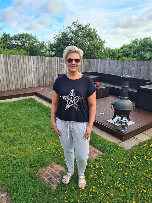 Black star top by A Postcard from Brighton