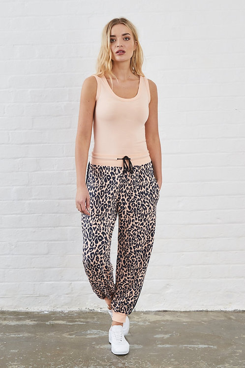 Animal print joggers by sundae tee