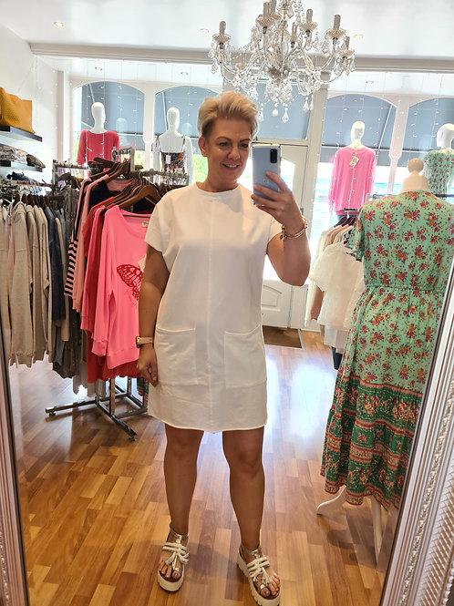 White t shirt dress by Suzy D London