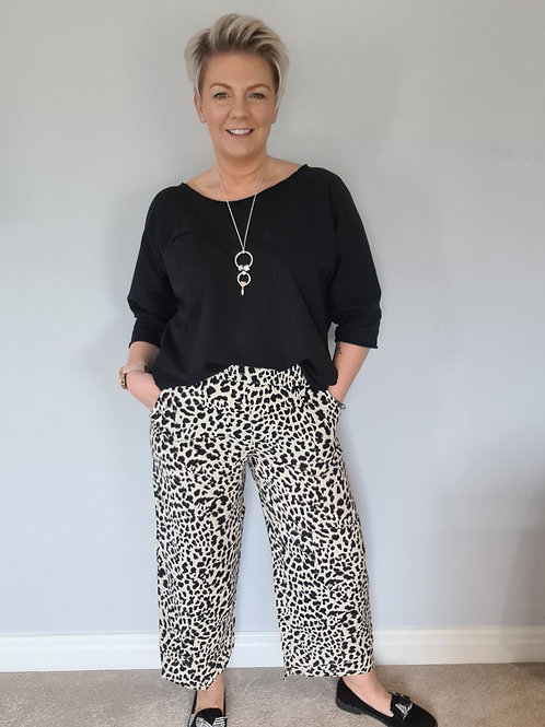 Joella cropped pants by B Young