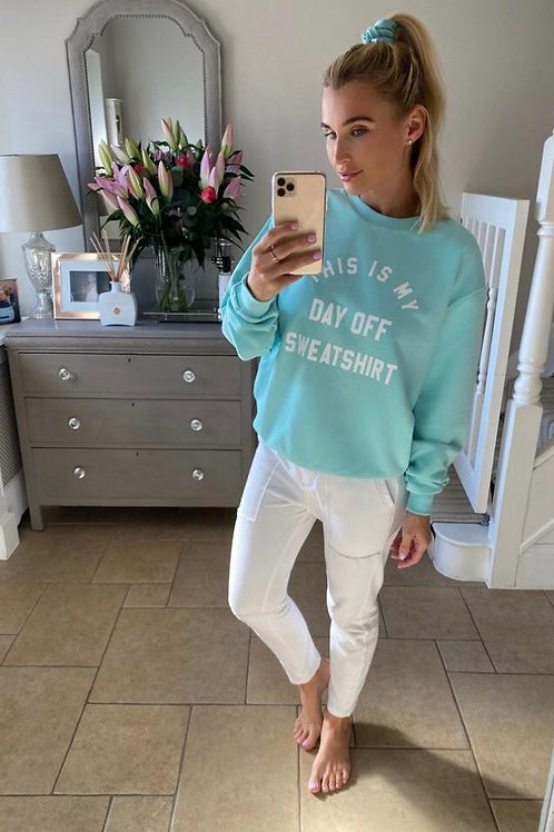 Turquoise sweatshirt by My Nelly