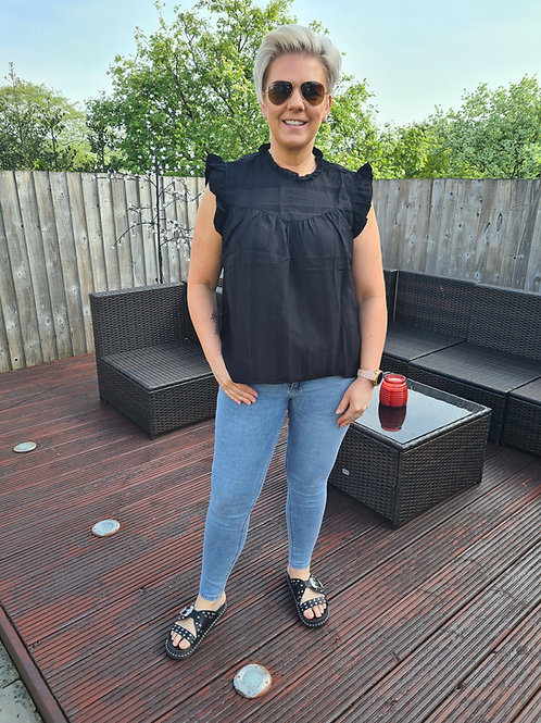 Black IMMY top by B Young