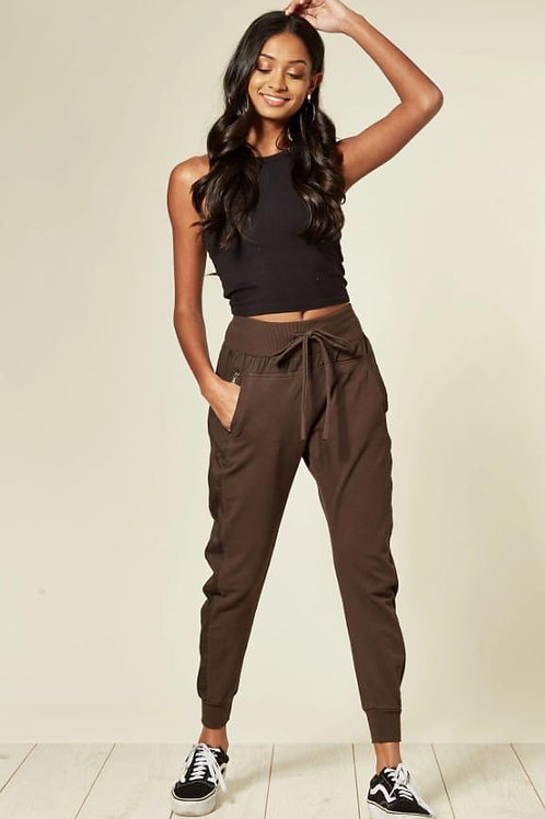 Brown Suzy D ultimate jogger