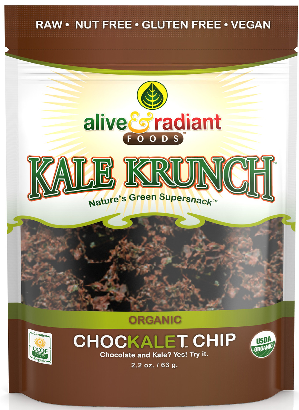 Chocolate Chip Kale Krunch