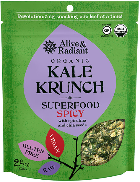 Spicy Superfood Kale Krunch