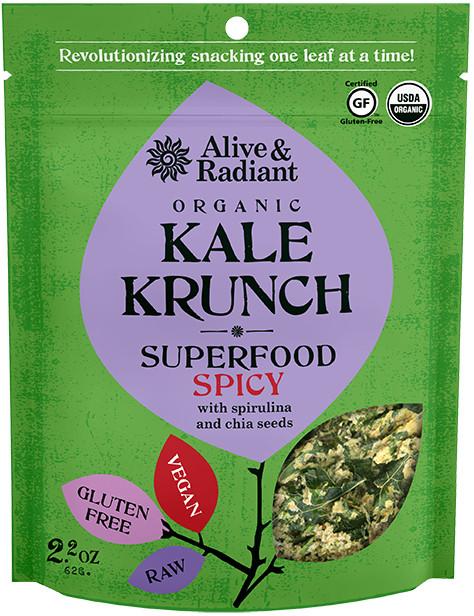 Spicy Superfood Kale Krunch