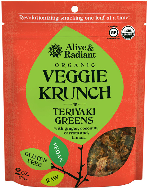 Teriyaki Greens Veggie Krunch