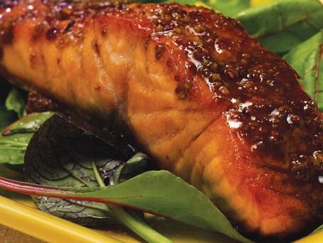 Pan-Seared Glazed Salmon